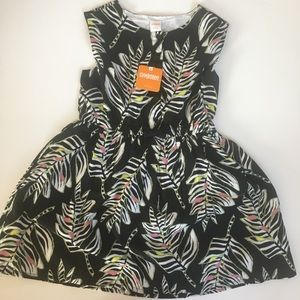 NWT Gymboree Palm Tree Floral Dress